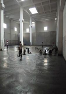 金刚砂耐磨地面地坪施工